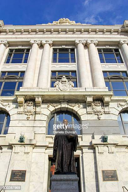 The building of the Louisiana State Court of Appeals and the Supreme Court of Louisiana, located in the French Quarter in New Orleans.