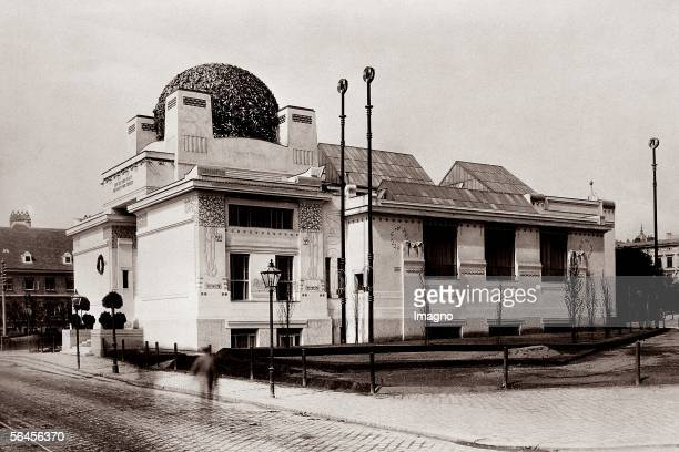 The building of the Secession shortly after its completion Photography Vienna around 1898 [Das Gebaeude der Secession kurz nach der Fertigstellung...