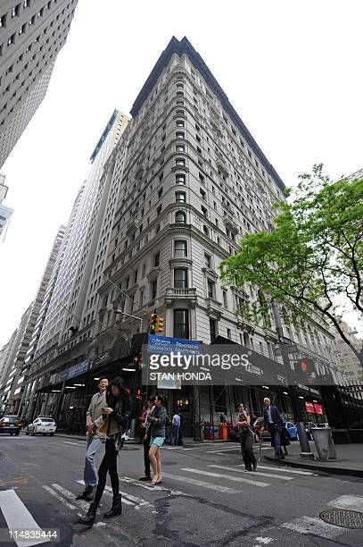 The building where former IMF head Dominique StraussKahn is being held under house arrest after posting bail in New York May 22 2011 StraussKahn was...