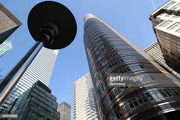 The building where the offices of Bernard L Madoff Investment Securities LLC are located stands in New York US on Monday Dec 15 2008 Federal...