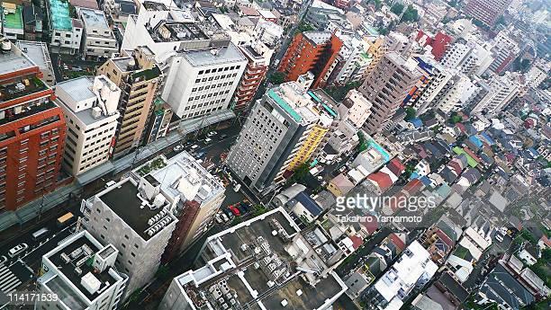 The buildings in Setagaya
