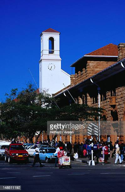 The Bulawayo post office, on the corner of Eighth Ave and Main Street