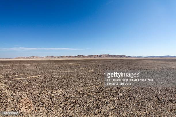 the bulbus rock field at mount zin - river bed stock photos and pictures