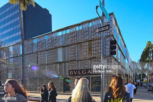 The Bulgari Store on January 28, 2017 in Beverly Hills, California.