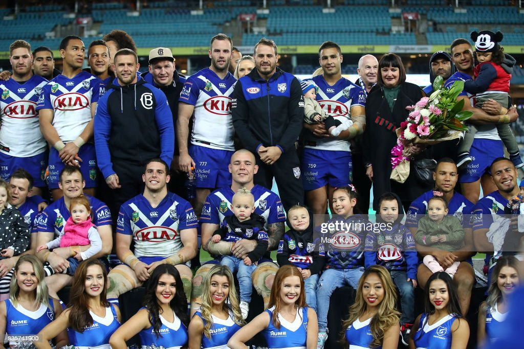 NRL Rd 24 - Bulldogs v Sea Eagles : News Photo