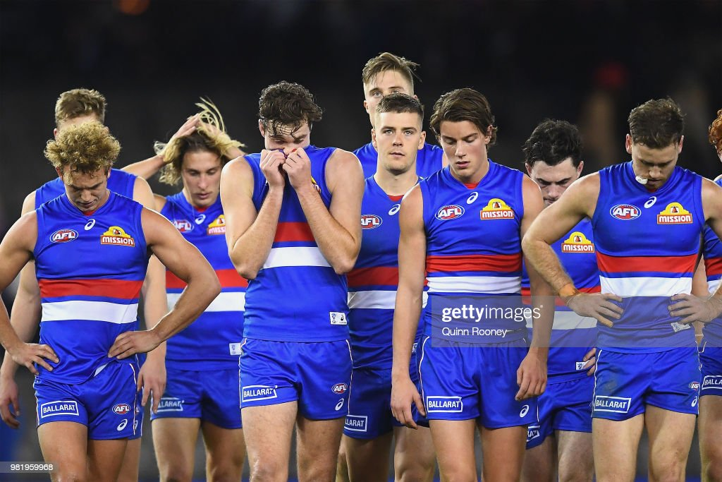 AFL Rd 14 - Western Bulldogs v North Melbourne : News Photo