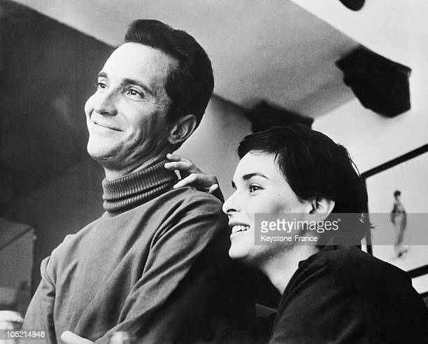 The Bullfighter Luis Miguel Dominguin And His Wife Actress Lucia Bose, October 27, 1960.
