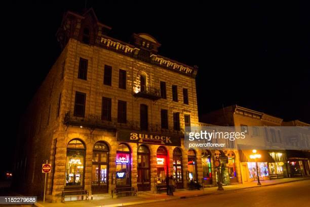 the bullock hotel in deadwood, south dakota, united states - deadwood south dakota stock pictures, royalty-free photos & images