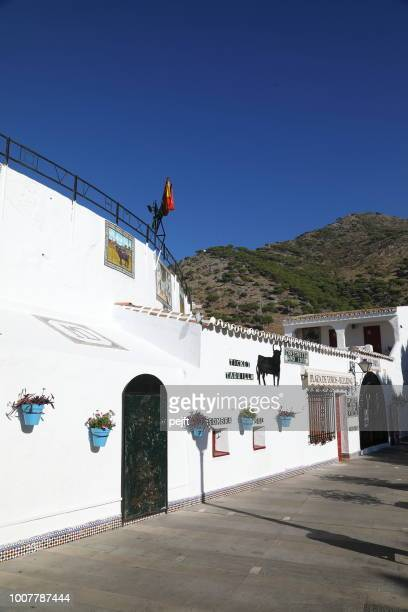 The bullring of Mijas - the white town above Fuengirola