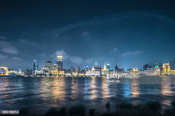 The Bund at night