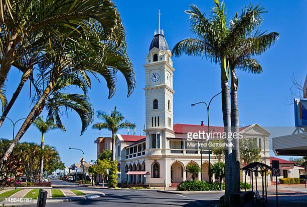 The Bundaberg Post Office with it's distinctive clock tower.