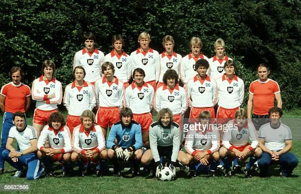 The Bundesliga team of Hamburg Ivan Buljan Uwe Beginski Horst Hrubesch Ditmar Jakobs Casper Memering Holger Hieronymus assistent coach Aleksander...