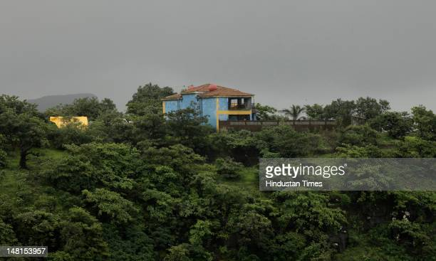 The bungalow at Igatpuri in which Laila Khan and her family are suspected to have been killed by Parvez Tak on July 11 2012 in Nasik India According...