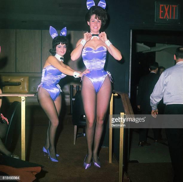 The Bunnies of the Playboy Club 5 East 59th Street New York City