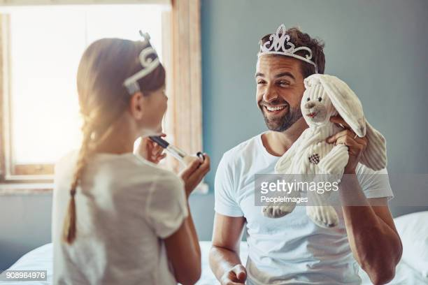 the bunny is taking one for the team - princess stock pictures, royalty-free photos & images