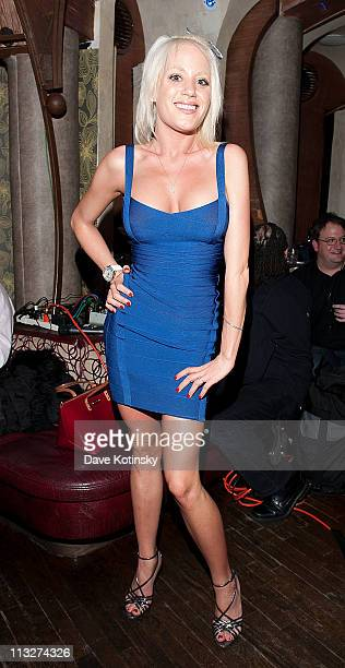 The Bunny Ranch's Cami Parker attends the book launch party for The Gods of Greenwich at Kiss Fly on April 28 2011 in New York City
