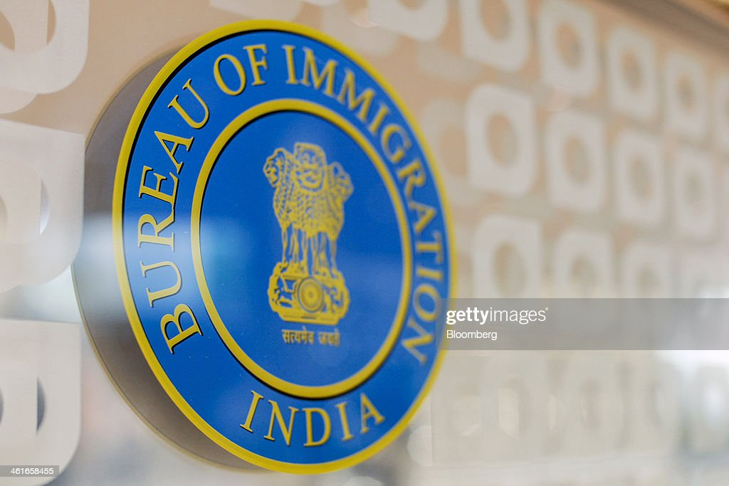 Indian bureau of immigration stock photos and pictures getty images