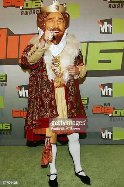 The Burger King arrives to the VH1 Big in '06 Awards held at Sony Studios on December 2 2006 in Culver City California