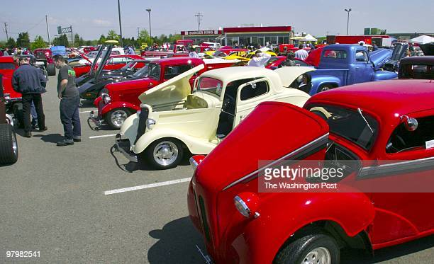 The Burger King parking lot on Nokesville Rd was the site of the 24th annual Classic Car and 'Truck show sponsored by Bull Run Street Rods a Manassas...