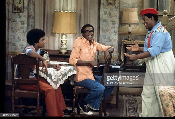 "The Burger Queen"" - Airdate: November 20, 1976. L-R: HAYWOOD NELSON;ERNEST THOMAS;FRED BERRY"