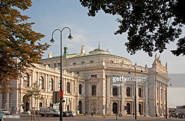 The Burgtheater at the Ringstrasse in Vienna 2013 Photograph by Gerhard Trumler