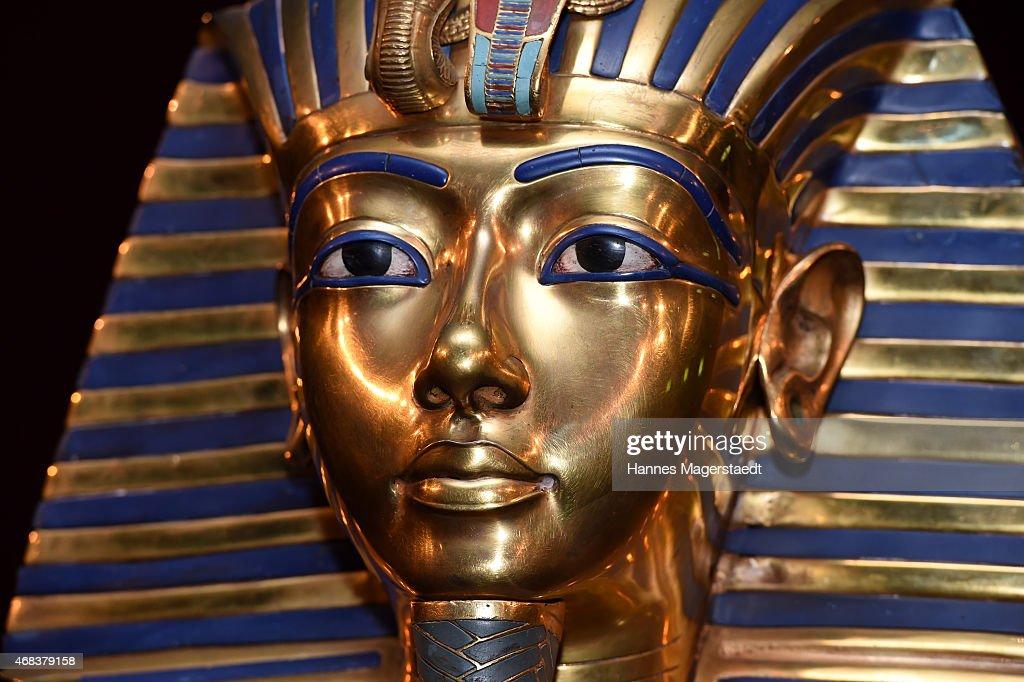 'Tutanchamun - Sein Grab und die Schaetze' Exhibition Preview : News Photo