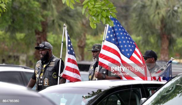 The burial of Army Sgt La David Johnson at Fred Hunter's Hollywood Memorial Gardens in Hollywood Fla on Saturday Oct 21 2017