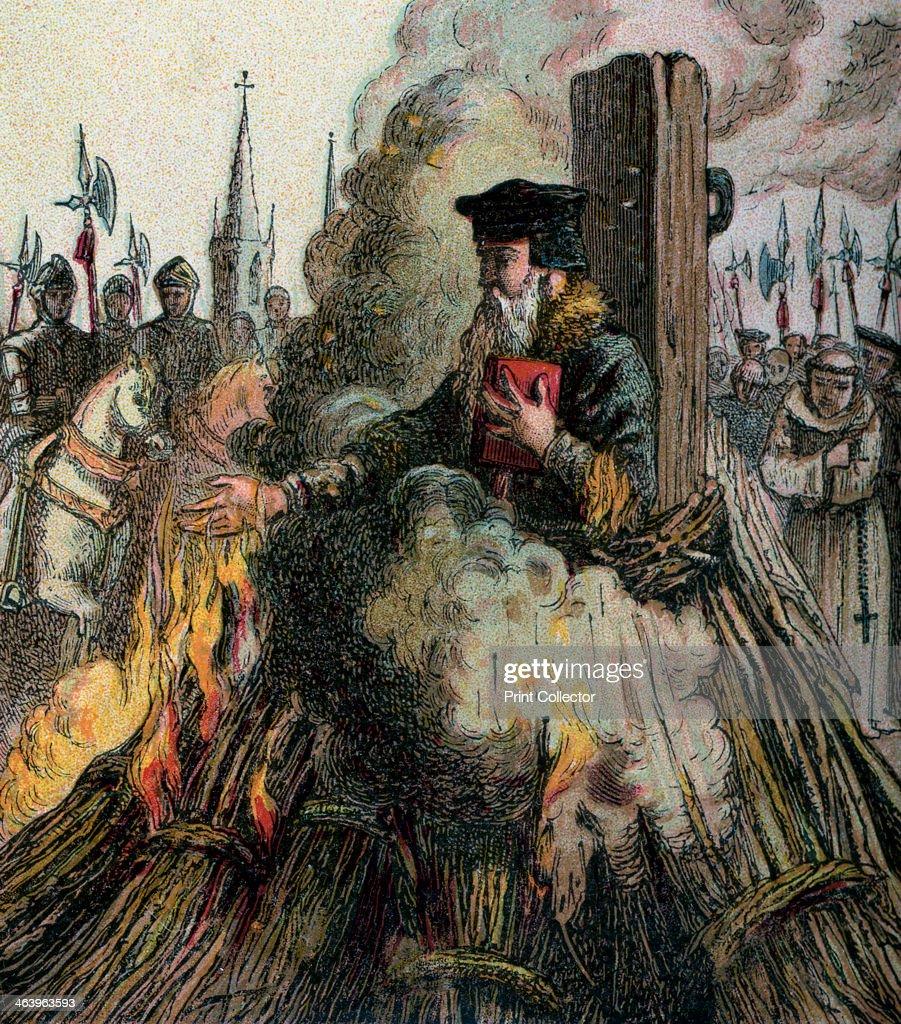 'The Burning Of Cranmer', 1556, (c1850). : News Photo