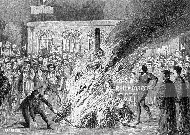 The Burning of Edward Underhill on Tower Green 1840 Edward Underhill was a religious radical who was imprisoned during the persecutions of...