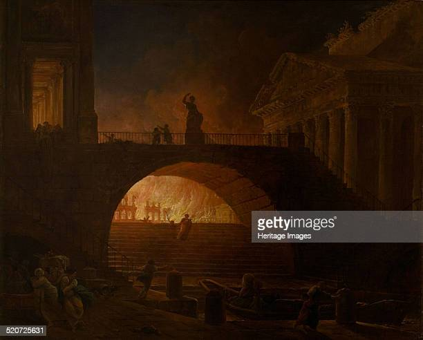 The Burning of Rome Found in the collection of Musée d'art moderne André Malraux Le Havre