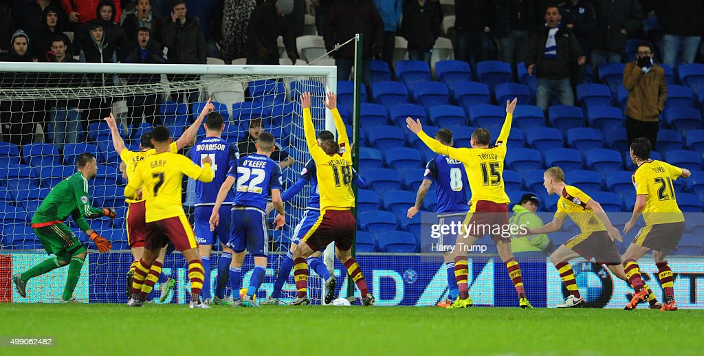 Cardiff City v Burnley - Sky Bet Championship : News Photo
