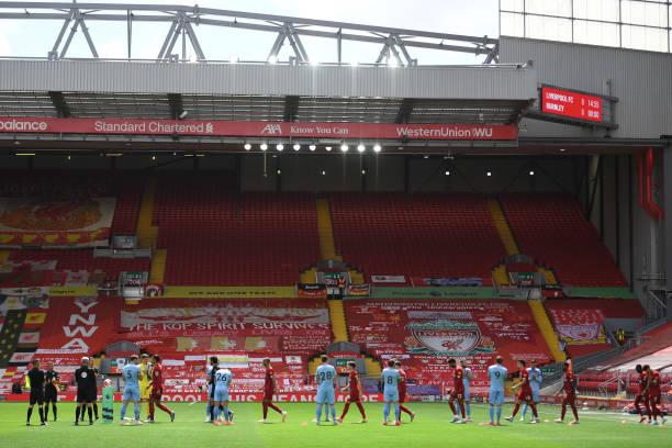GBR: Liverpool FC v Burnley FC - Premier League