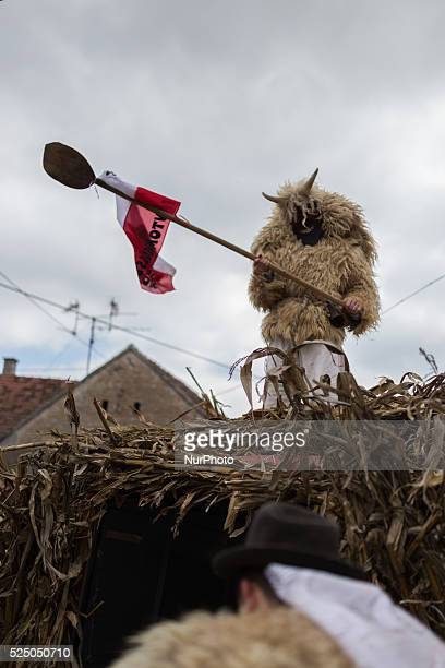 The Bus���� festivities at Moh����cs in southern Hungary are a sixday carnival in late February to mark the end of winter The Bus����s are dressed in...