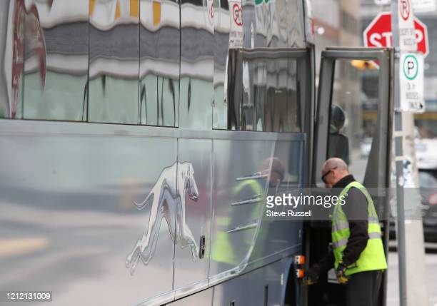 The Bus Terminal in Downtown Toronto, Greyhound Canada will halt all of its bus routes in Canada starting next Wednesday, May 13, because of the...