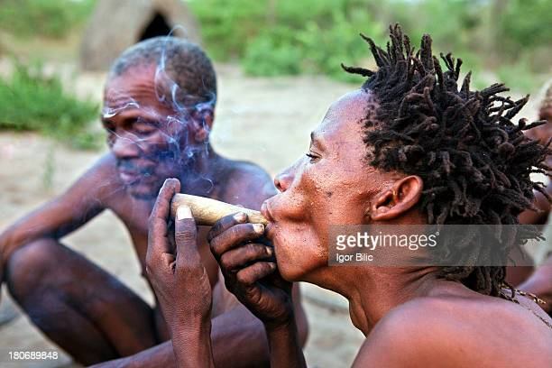 CONTENT] The Bushmen tribe are the oldest inhabitants of southern Africa where they have lived for at least 20000 years The San were huntergatherers...