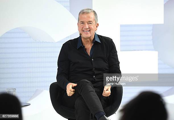 The Business of Fashion presents an exclusive conversation with Mario Testino during VOICES on December 3 2016 in Oxfordshire England