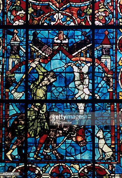 The Butchers stained glass Chartres Cathedral France 11941260
