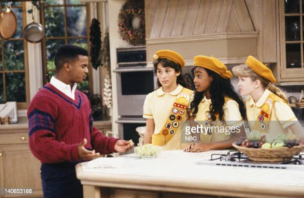 AIR 'The Butler Did It' Episode 11 Pictured Alfonso Ribeiro as Carlton Banks Tatyana Ali as Ashley Banks Photo by Ron Tom/NBCU Photo Bank
