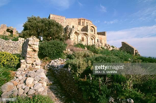 The Byzantine church of Agia Sophia Monemvasia Peloponnese Greece 13th century