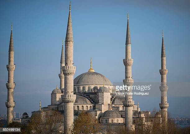 The Byzantine Church of Hagia Sophia pictured at sunrise on December 14 2012 at the Sultanahmet district in Istanbul Turkey Photo by Victor Fraile