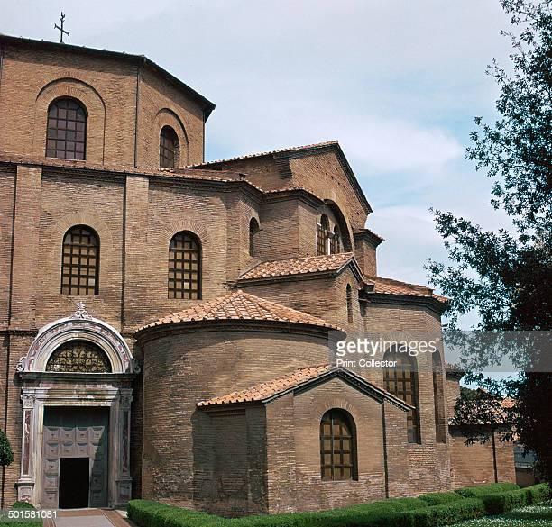 The Byzantine Church of San Vitale in Ravenna, 6th century.
