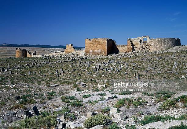 The Byzantine citadel , ancient Roman city of Ammaedara , Tunisia. Byzantine Civilisation, 6th century.