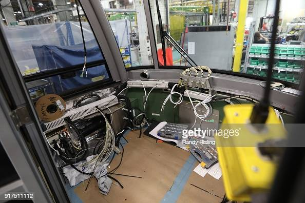Thunder Bay Cab >> The Cab Of Ttc Streetcar 4440 During Assembly At The Thunder