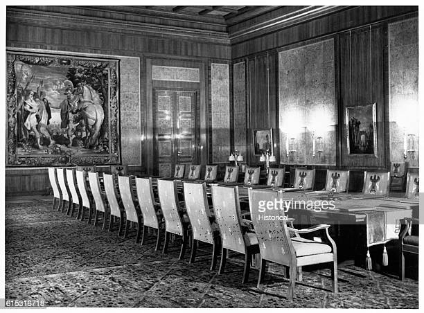 The Cabinet Room in the Third Reich Chancellory