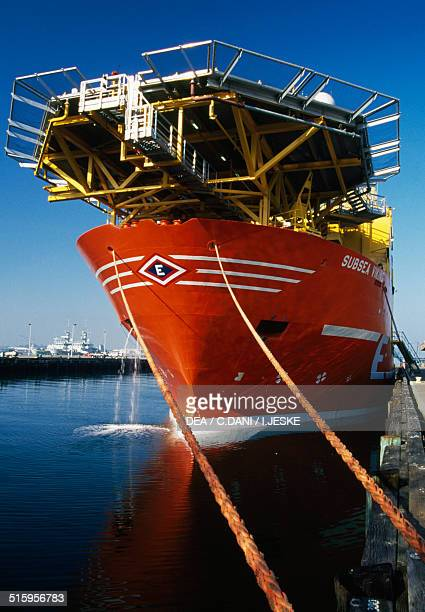 The cable ship Subsea Wiking 1999 Norway 20th century