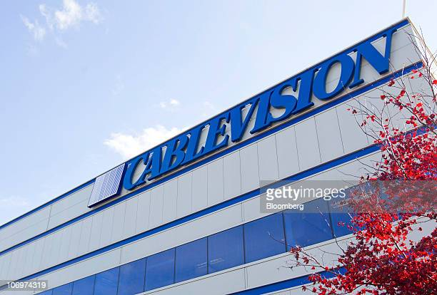 The Cablevision Systems Corp. Headquarters sits in Bethpage, New York, U.S., on Friday, Nov. 19, 2010. Cablevision, the New York-area...
