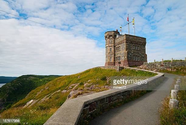 the cabot tower - national landmark stock pictures, royalty-free photos & images