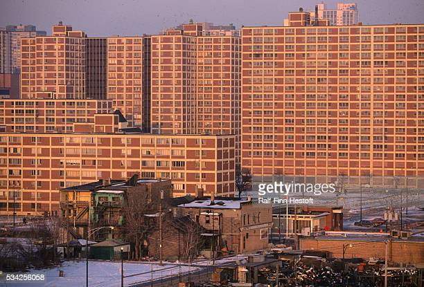 The CabriniGreen housing project in Chicago provides low income housing The project was recently taken over by HUD