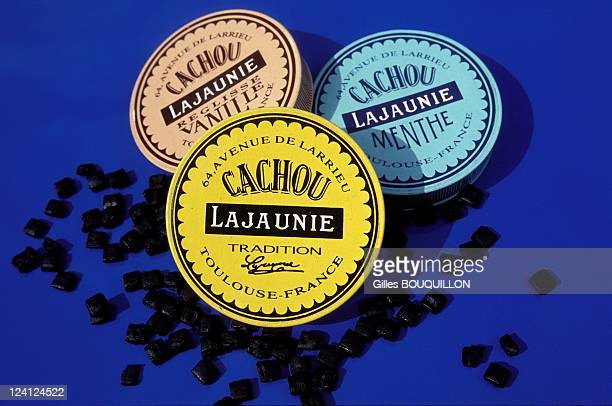 The Cachou Lajaunie In France In September1993 Invented by the pharmacist Leon Lajaunie in 1890 The trademark small yellow tin was invented by a...