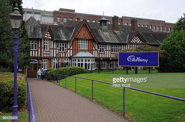 The Cadbury chocolate factory is pictured in Birmingham central England on September 7 2009 US giant Kraft Foods on Monday launched a 102 billion...